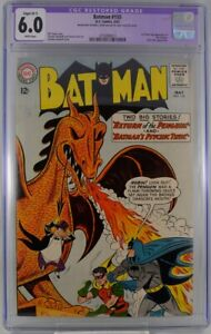 Batman #155 CGC 6.0 Restored 1st Silver Age Penguin 1963