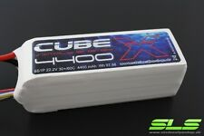 SLS X-Cube LiPo 6S 4400mah 22.2V 30C/60C! E.G. For Helis, Large Models, etc.