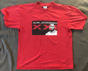 Vibtage Air Jordan XX1 Shirt. Size Youth L
