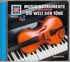 CD * WAS IST WAS - FOLGE 43 - MUSIKINSTRUMENTE / DIE WELT DER TÖNE # NEU OVP !