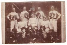 Foto AK Langenwetzendorf Sportler um 1909 (100)