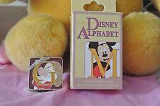 Disneyland Disney Mystery Alphabet Letter G Grumpy Dwarf LE 400 Chaser GLitter