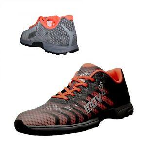 Inov8 Damen F Lite 195 V2 Trainingsschuhe Gym Fitness Schuhe Sneaker grau Gr. 38
