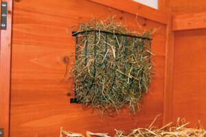 Trixie Slimline Screw On Metal Rabbit Guinea Pig Wooden Hutch Hay Manger Rack