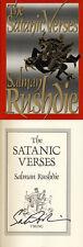Salman Rushdie SIGNED AUTOGRAPHED The Satanic Verses HC 1st Ed *RARE*
