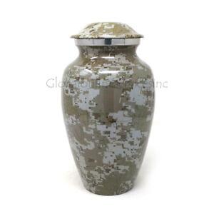 Cremation urn Modern French Aluminium Medium