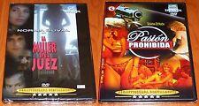 LA MUJER DEL JUEZ + PASION PROHIBIDA - Norma Duval & Susana Estrada - Precintada