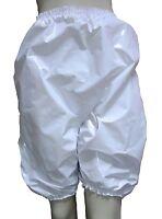 PVC Bloomers Sissy CULOTTE HAUTE adulte bébé culotte plastique brillant blanc