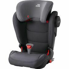 Britax Romer Kidfix 3 III M Kids Car Seat Smoke Grey Isofix Booster 15-36kg 2/3