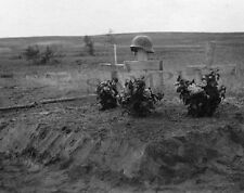 "KIA German Soldiers Grave on Russian Front 8""x 10"" World War II WW2 Photo 14p"