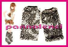 Tights Overboots Leopard Black Boot Fur-16