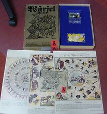 """Original DDR -Spielesammlung """"6 Würfelspiele"""" Plasticart""""  VEB Plasticart"""