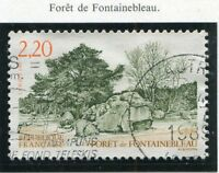 TIMBRE FRANCE OBLITERE N° 2586 FORET DE FONTAINEBLEAU /Photo non contractuelle