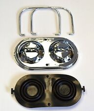 1967-1982 Corvette Master Cylinder Cover Chrome w/ Bails & Gaskets Ready to Ship