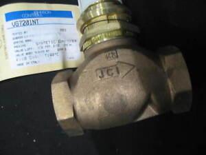 Havelock 2 Way Valve VG7201NT VG7000 Series DN25 Female Thread Bronze