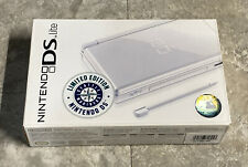 Brand New Limited Nintendo DS Lite Seattle Mariners Polar White Handheld System