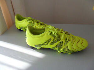 Adidas Football Boots X 15.3 Yellow black, Men's/Boy's UK 7