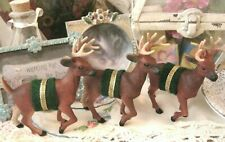 1998 Artificial Christmas Reindeer Deer Stag with Textured Hides & True Coloring