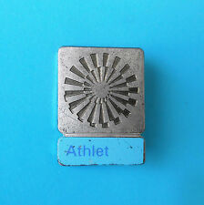 OLYMPIC GAMES MUNICH 1972. - LARGE PARTICIPANT PIN BADGE * ATHLETE * Munchen 72.