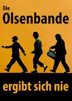 Die Olsenbande ergibt sich nie Ansichtskarte AK Postkarte Kühlschrankmagnet DDR