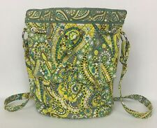 Vera Bradley Lemon Parfait Quick Draw Purse Shoulder Bag w/ Drawstring Retired