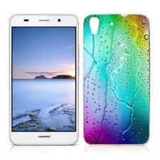Coque Etui Huawei Y 6 II ( 2016 ) Motif Goutte D'Eau - Envoi en Suivi