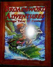 Rattrap Publications-Broadsword Adventures:Savage Tales of Fantasy