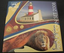 South Africa 2008 Short Proof Set in SA Mint Case - SEALED & Rare