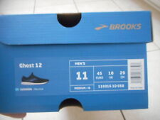 ****** Brooks Ghost 12 Sneakers Shoes Running 11 Mens Black Blue 110316 1d 058