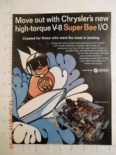 1969 Super Bee I/O Marine Division Chrysler boat engine Cobia boats Sanford FL