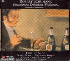 Schumann: Piano & Chamber Music Vol 6 Fantasiestucke, Kreisleriana / Le Sage  CD