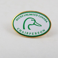 Ducks Unlimited Pin - Ducks Unlimited Canada Chairperson - Sticker Pin