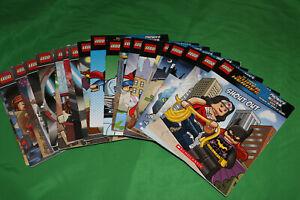 20 x Lego DC Comics Super Heroes Phonics Books
