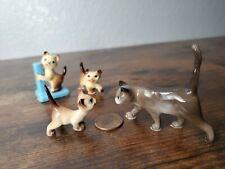 Hagen Renaker four Beautiful miniatures