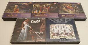 AP Richard Wagner CD Sammlung Konvolut Parsifal Götterdämmerung Feen Siegfried