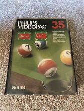New listing VINTAGE PHILIPS G7000 CONSOLE COMPUTER VIDEOPAC 35 BILLIARDS GAME.