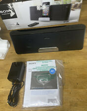 Sony Personal Audio Docking System RDP-T50iP with Remote In Original Packaging.