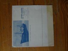 Carte lettre Ateliers & Chantiers de  la Manche - Chantier naval Manche Dieppe