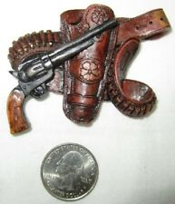 Western Mini Magnet Cowboy Gun and Holster Type B  New