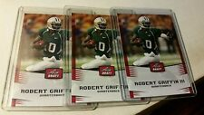 2012 LEAF DRAFT ROBERT GRIFFIN III RG3 ROOKIE CARD RC REDSKINS BROWNS Lot of 3