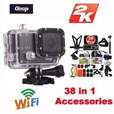 Gitup Git2 Pro WiFi 16M 2K Helmet Sports Action Camera +38 Pcs Accessories