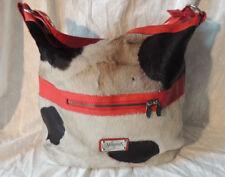 Women's Valentina Italy Cowhide Leather Hobo Handbag Shoulder Bag Purse