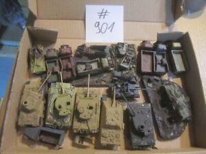 #901 1:72 bemalte Bausätze + Resin WKII zerstörte Panzer LKW Wracks Diorama
