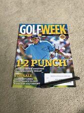 Jason Dufner Golf Signed Autographed Magazine Pga Champion Masters