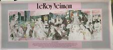 "LeRoy Neiman ""Polo Lounge"" Print 17 x 39"