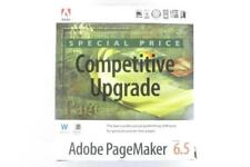 Vintage 1996 Adobe PageMaker 6.5 Box + Font Disks + User Guides - NO INSTALL CD