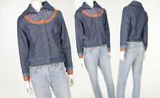 668cff01d3 70s Womens Vintage Levis Ski Trucker USA Denim   Quilted Jacket Mint