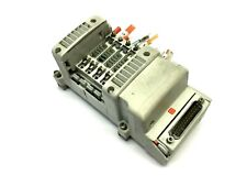 SMC 5-Slot Manifold Assembly W/ 25 Pin Connector End Plate