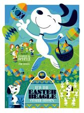 IT'S THE EASTER BEAGLE CHARLIE BROWN TOM WHALEN SNOOPY Limited edition print 300