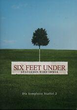 SIX FEET UNDER - Die komplette Staffel 2 - 5 DVD Box - 13 Episoden